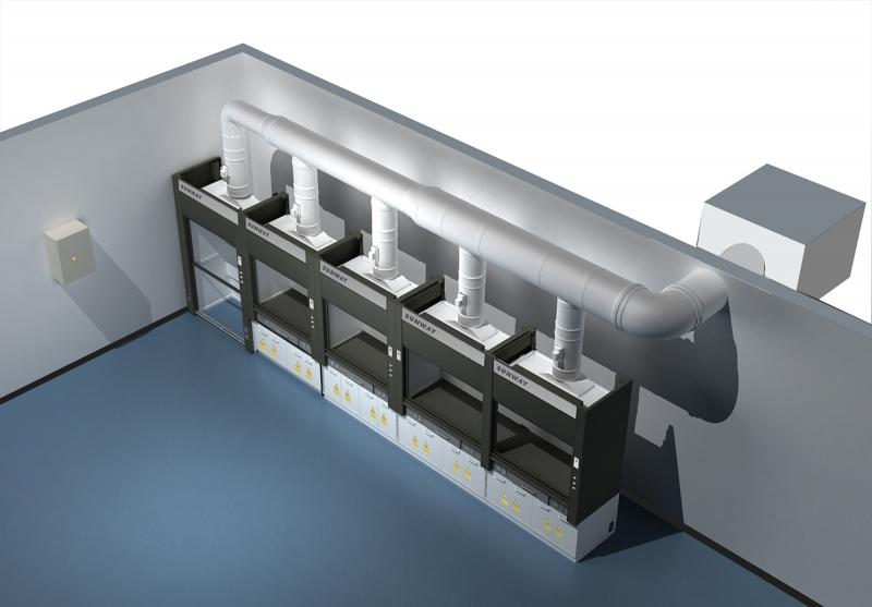 广西实验室废气处理工程