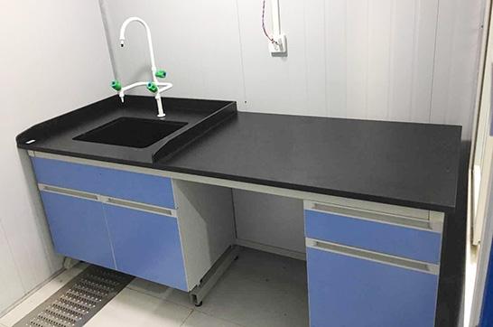食品车间微生物实验室钢木实验台案例