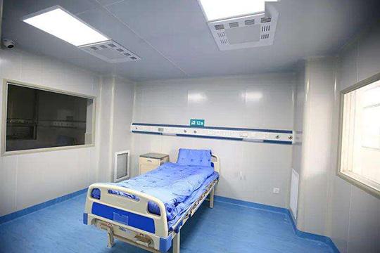 广西负压病房新风系统设计